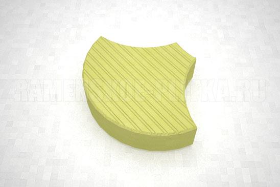 плитка чешуя цвет желтый