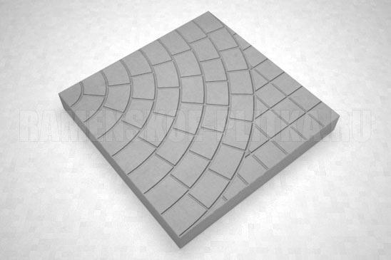 плитка паутина-40 цвет серый