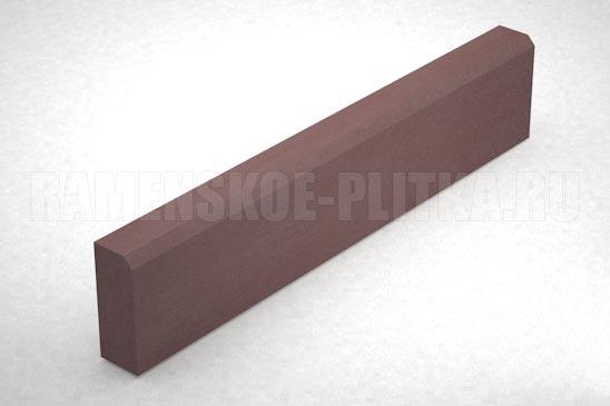 бордюр бр 100.20.8 цвет коричневый