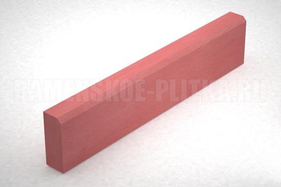бордюр бр 100.20.8 цвет красный
