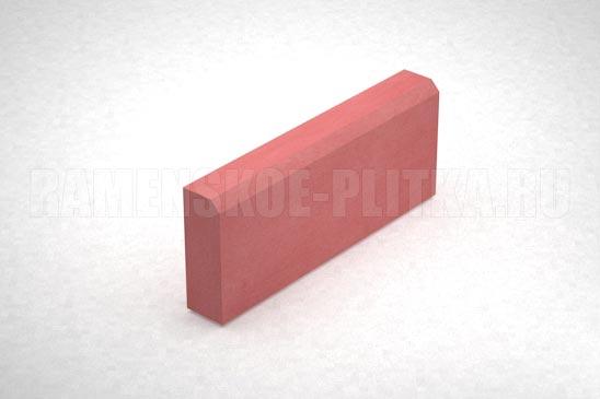 бордюр бр 50.20.7 цвет красный