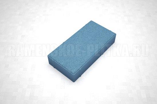 брусчатка 40 мм вибропресс синяя