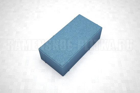 брусчатка вибропресс синяя