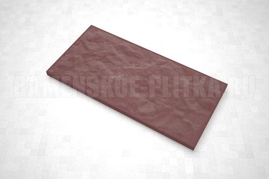 плитка рваный камень 270*127 цвет коричневый
