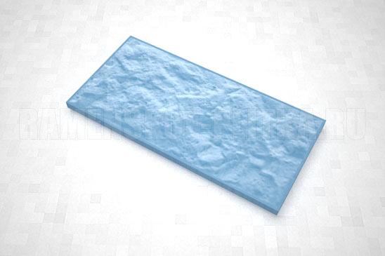плитка рваный камень 270*127 цвет синий