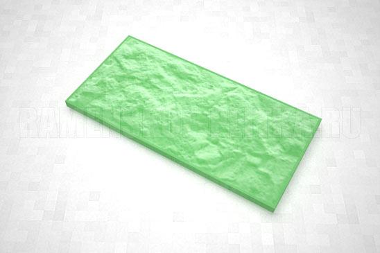 плитка рваный камень 270*127 цвет зеленый