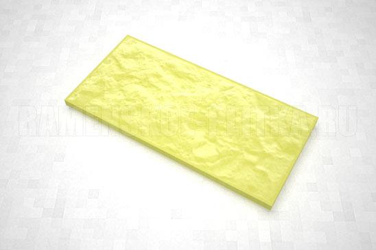 плитка рваный камень 270*127 цвет желтый