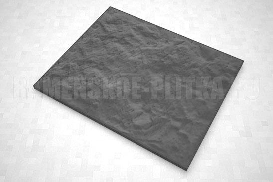 плитка колотый камень 270*330 цвет черный