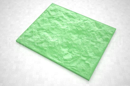 плитка колотый камень 270*330 цвет зеленый