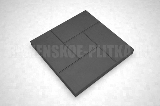 плитка калифорния цвет черный