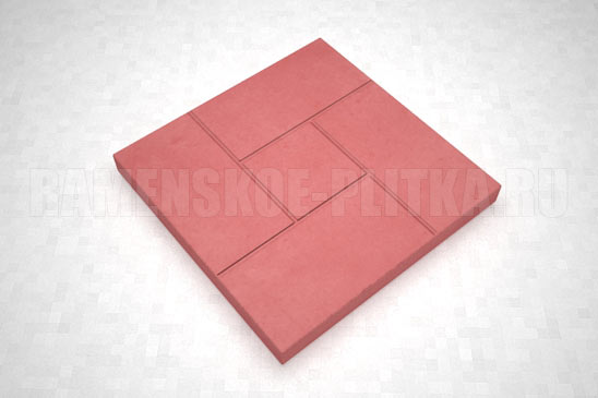 плитка калифорния цвет красный