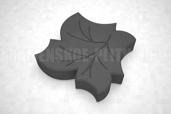 плитка клен цвет черный