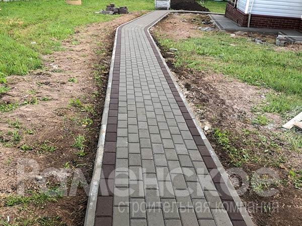 монтаж тротуарной плитки в сельском поселении Софьинское