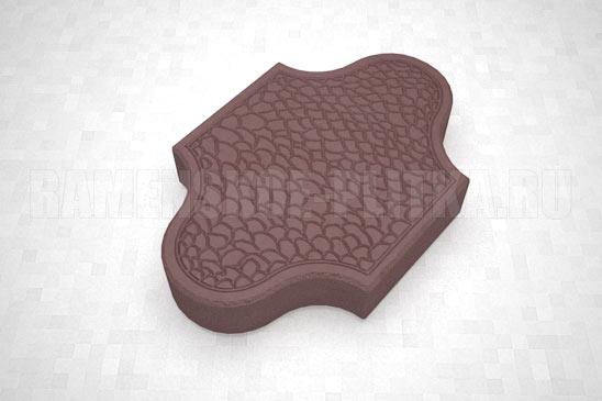 плитка рокко цвет коричневый