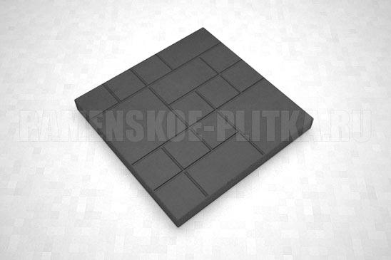 плитка шоколадка цвет черный