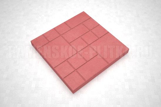 плитка шоколадка цвет красный