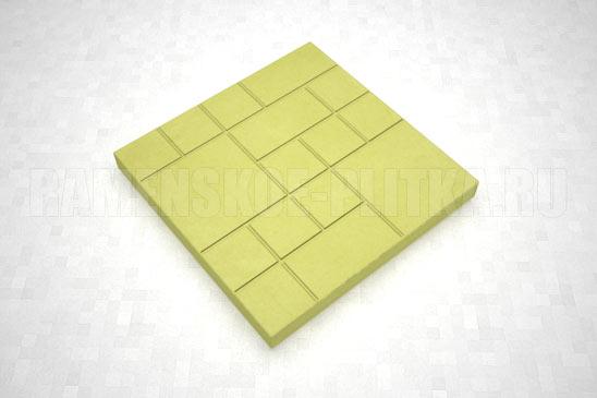 плитка шоколадка цвет желтый