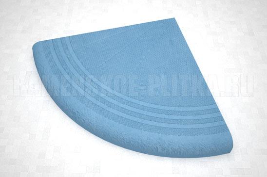 ступень угловая цвет синий