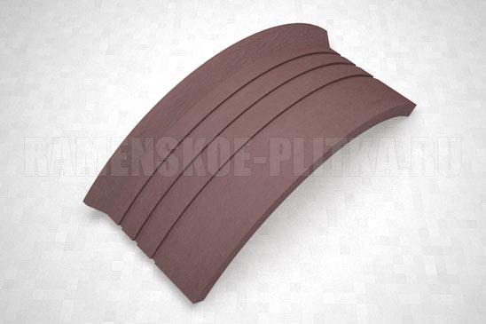 подступенок угловой цвет коричневый