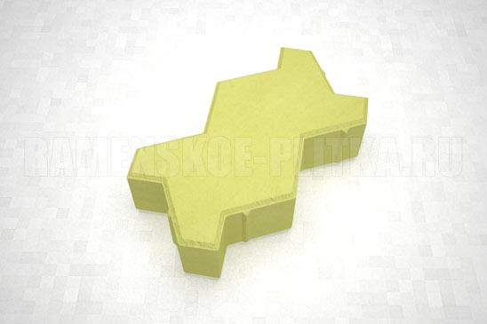 плитка волна цвет желтый